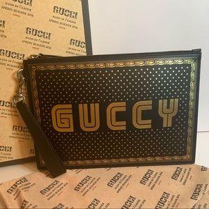 Gucci Limited Edition Guccy Clutch
